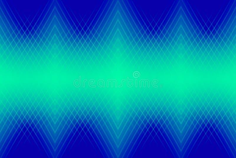 Neonlicht op blauw stock fotografie