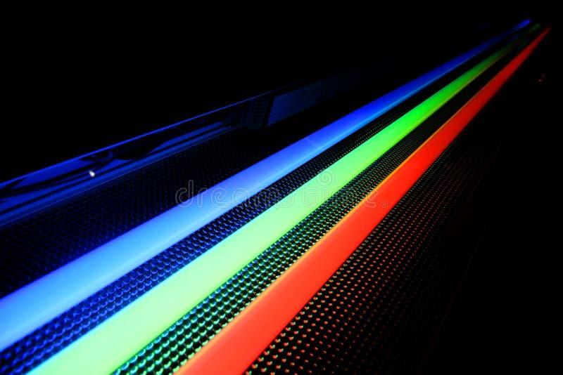 Neonlichten royalty-vrije stock foto's