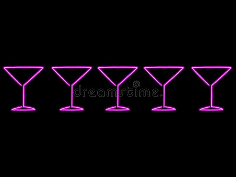 NeonLines royalty-vrije illustratie