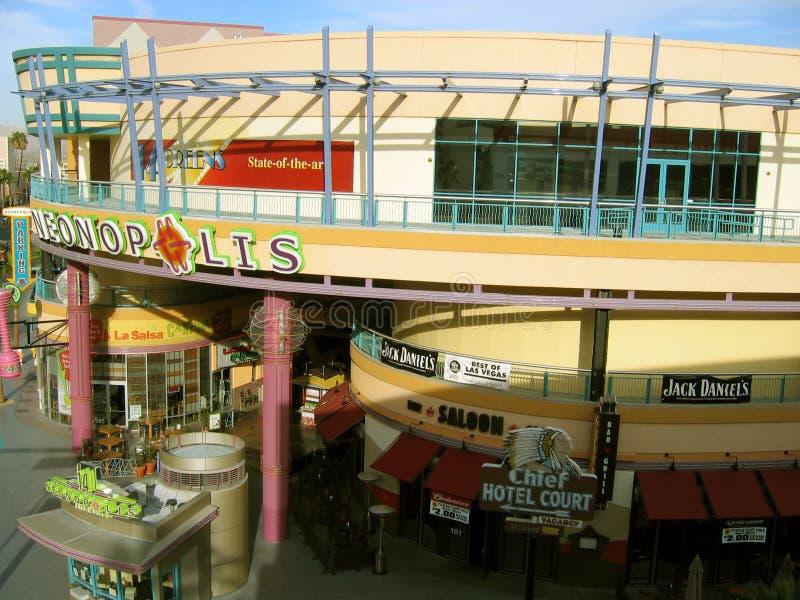 Neonopolis, Лас-Вегас, Невада, США стоковые фото