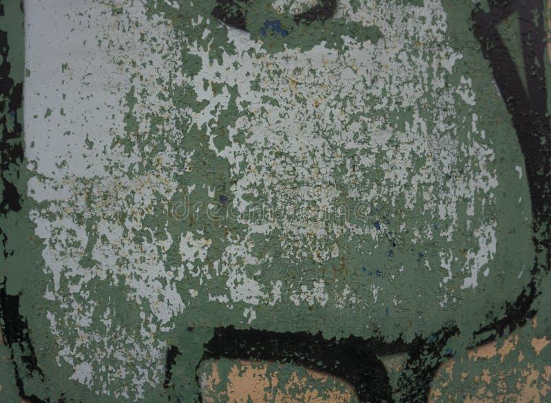 Neonowa wibrująca żółtej zieleni grungy ścienna tekstura Więcej ten motyw więcej tła w mój porcie zdjęcia stock