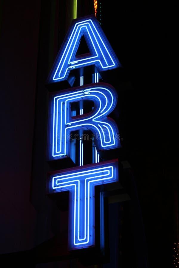 Neonzeichen stockbilder