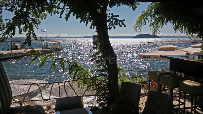 Neos Marmaras royaltyfri foto