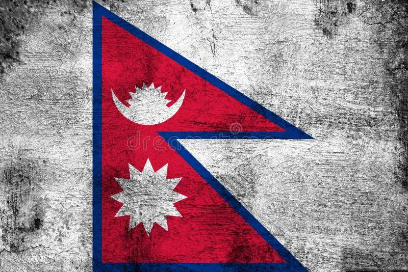 Nepal royalty ilustracja