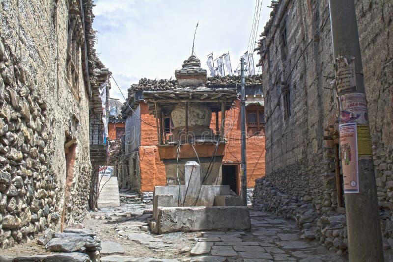 nepal Anapurna, Mustang lizenzfreie stockbilder