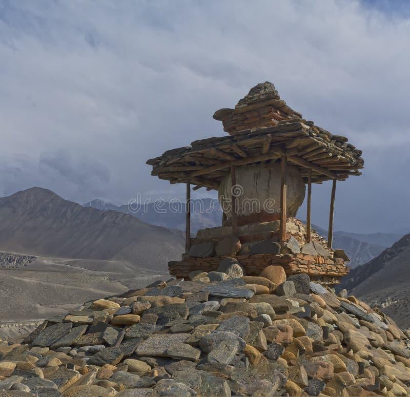 nepal Anapurna, Mustang stockfoto