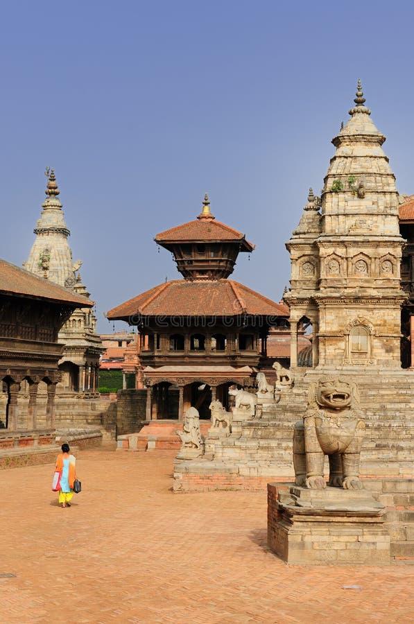 Nepal - Bhaktapur imagem de stock