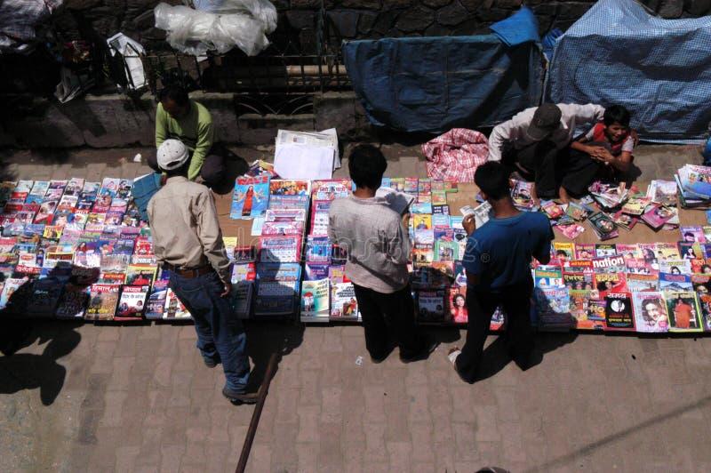 nepal ciudad del centro de Katmandu imágenes de archivo libres de regalías