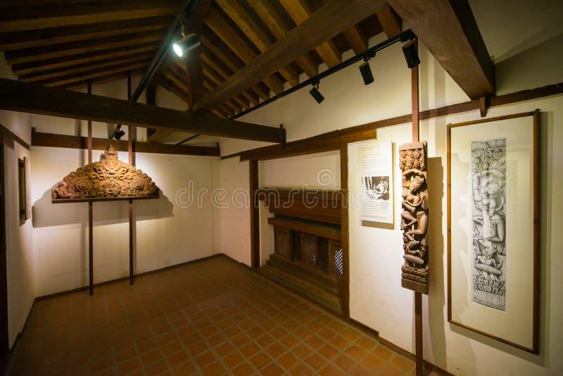 Nepal - 23 de diciembre de 2016:: Cuadrado de Patan Durbar - patrimonio mundial imagenes de archivo