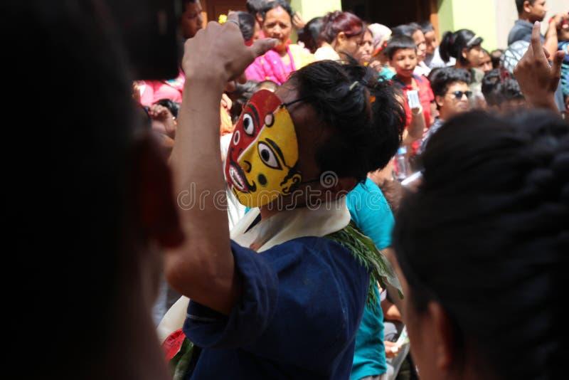 Nepal Festival stock images