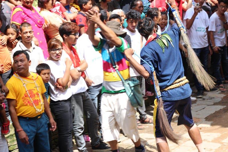 Nepal Festival royalty free stock photography
