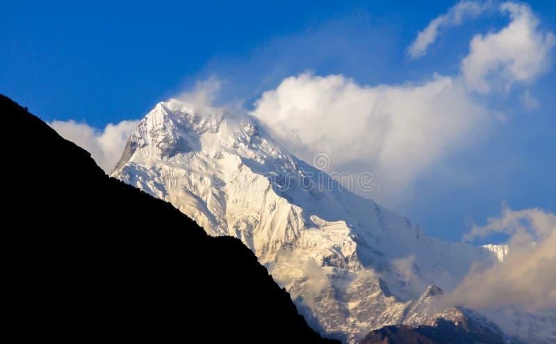 Nepal himalaje fotografia stock