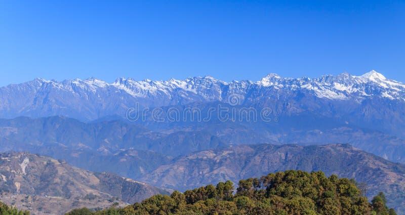 Nepal himalaje fotografia royalty free