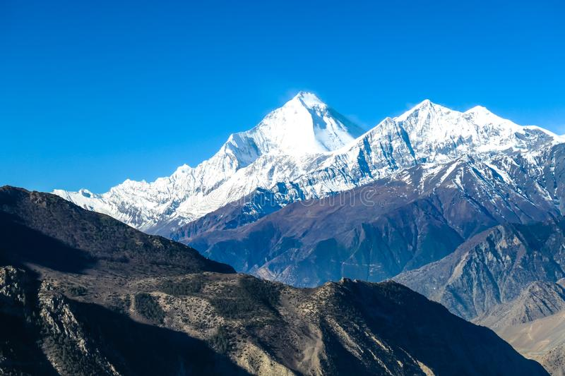 Nepal - Himalayan landscape royalty free stock images