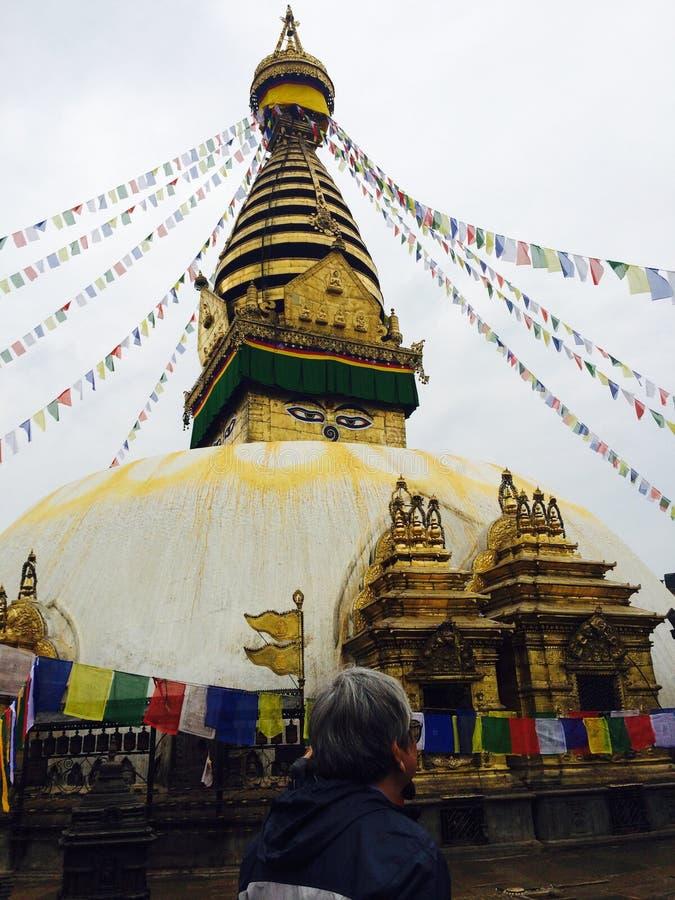 Nepal, Katmandu royalty-vrije stock fotografie