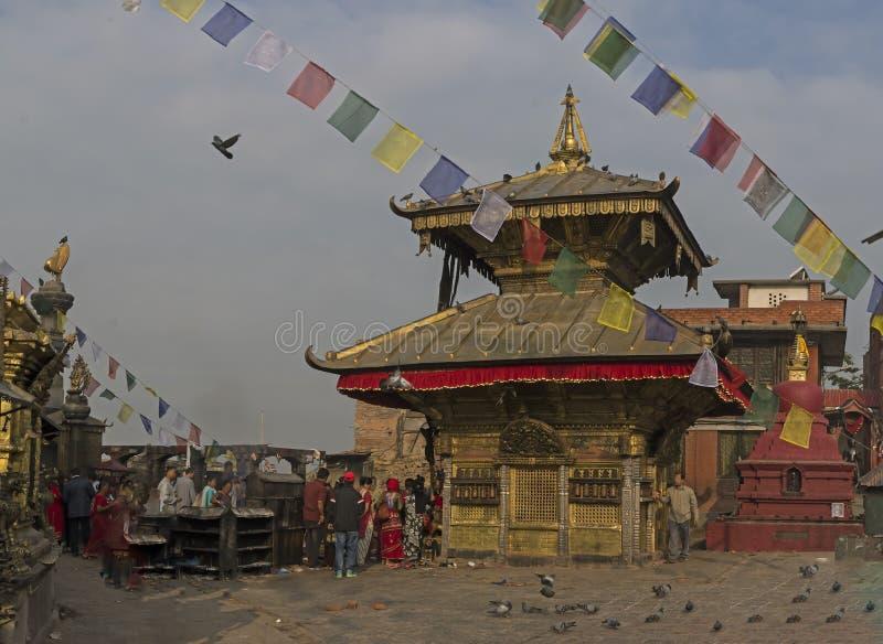 Nepal, Katmandu foto de archivo