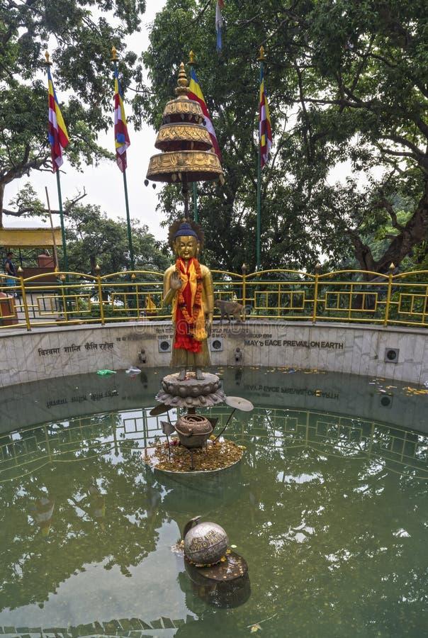 Nepal, Katmandu imagenes de archivo