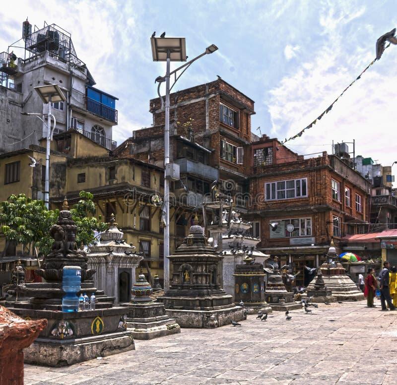 Nepal, Katmandu fotografía de archivo