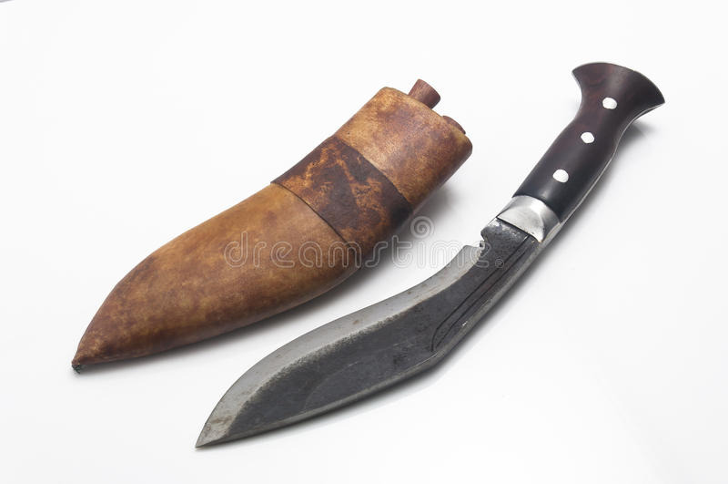 Nepal, knife stock photography