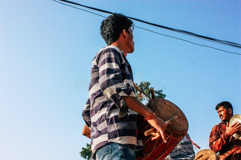 nepal ludzi fotografia royalty free