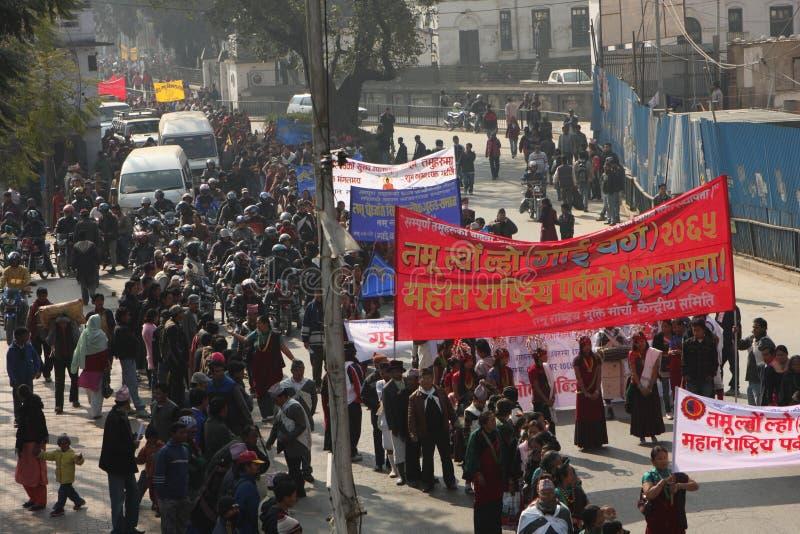 nepal nowy rok obraz stock