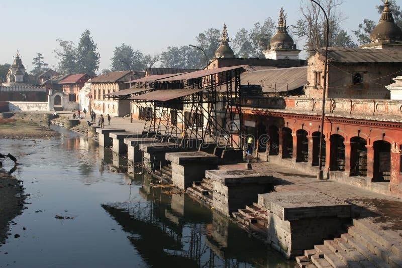 nepal pashupatinath royaltyfri fotografi