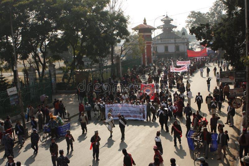 nepal rok nowy tradycyjny zdjęcia stock