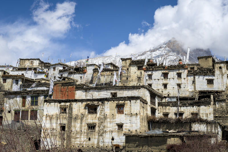 Nepal's architecture royalty free stock photography