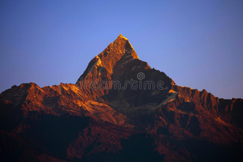 Download Nepal scenery stock image. Image of mountains, capped - 22148821