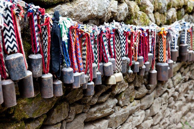 Nepal souvenir. royaltyfri foto