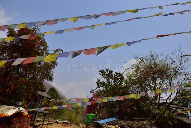 Nepal väg till den Chitwan nationalparken royaltyfria bilder