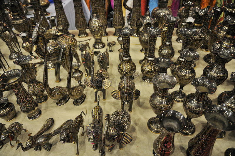 Nepalese Handicrafts Stock Photography