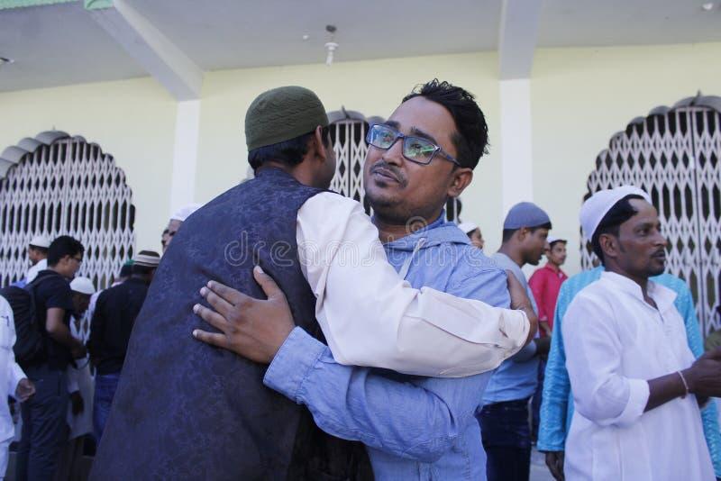 NPL: Nepal celebrates Eid al-Adha royalty free stock photo