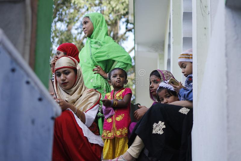 NPL: Nepal celebrates Eid al-Adha stock image