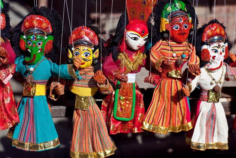 Nepalese Puppet Show Stock Photo Image Of Figurehead