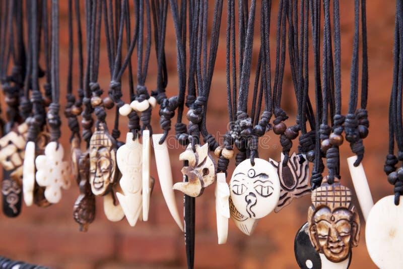 nepalese traditionellt för amuletter royaltyfri fotografi