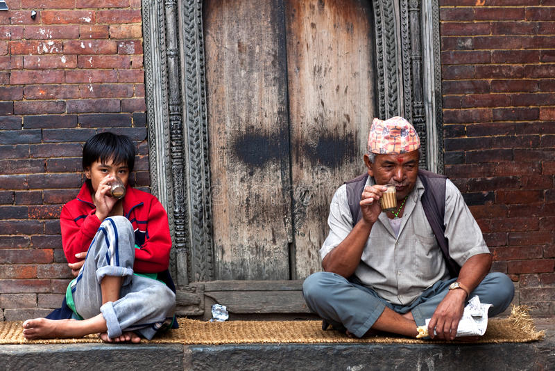 Nepalska herbata zdjęcie stock