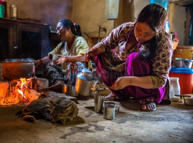 Nepalska kuchnia obraz stock