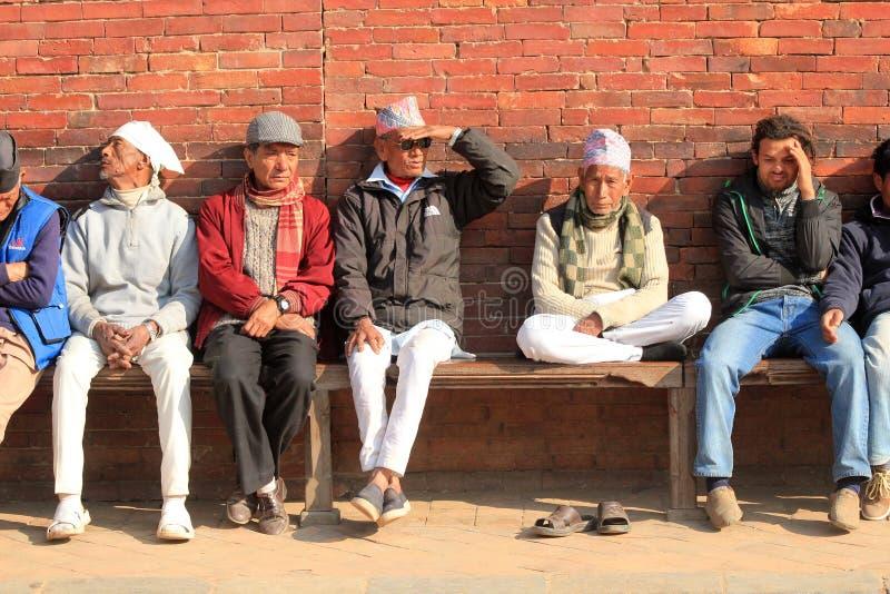 Nepalski mężczyzna obraz stock
