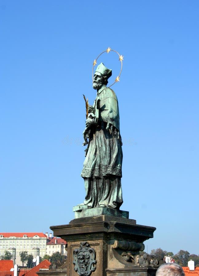 Statue At Petrin Park In Prague Editorial Stock Photo