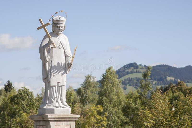 Nepomuk statua zdjęcie royalty free
