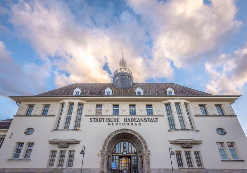 Neptunbad en Colonia imágenes de archivo libres de regalías