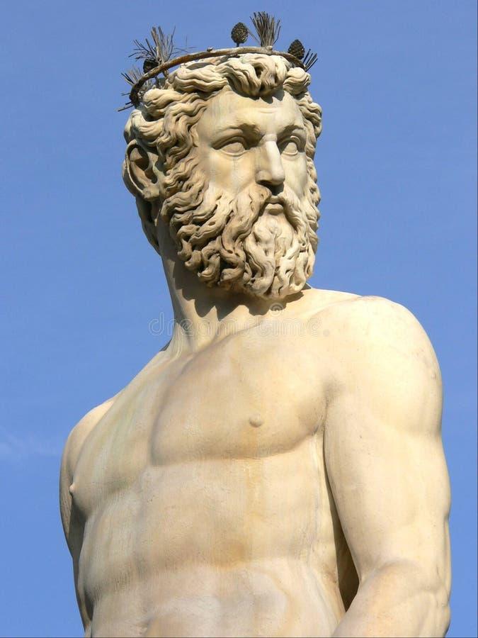 Neptune à Florence image libre de droits