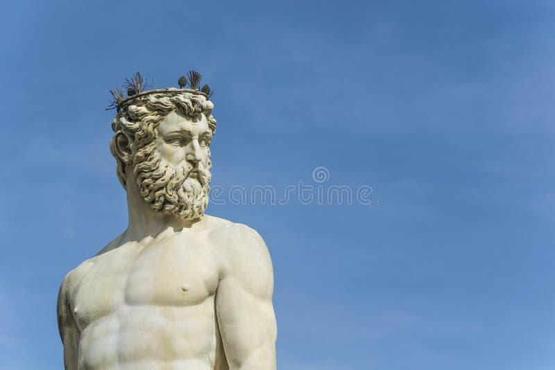 Neptune à Florence photo libre de droits