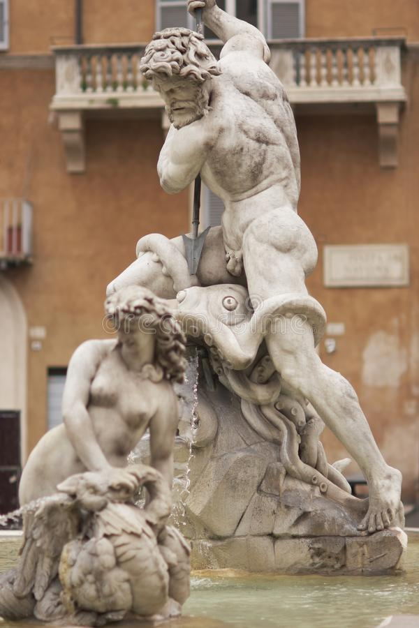 Download Neptune stock image. Image of attraction, rome, statue - 21799701