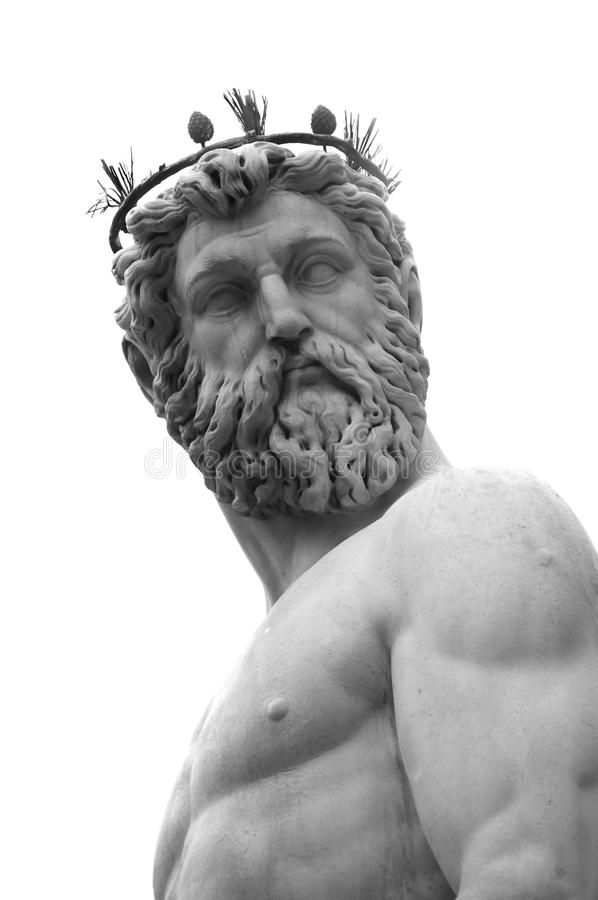 Neptune, Florence Italy royalty free stock images