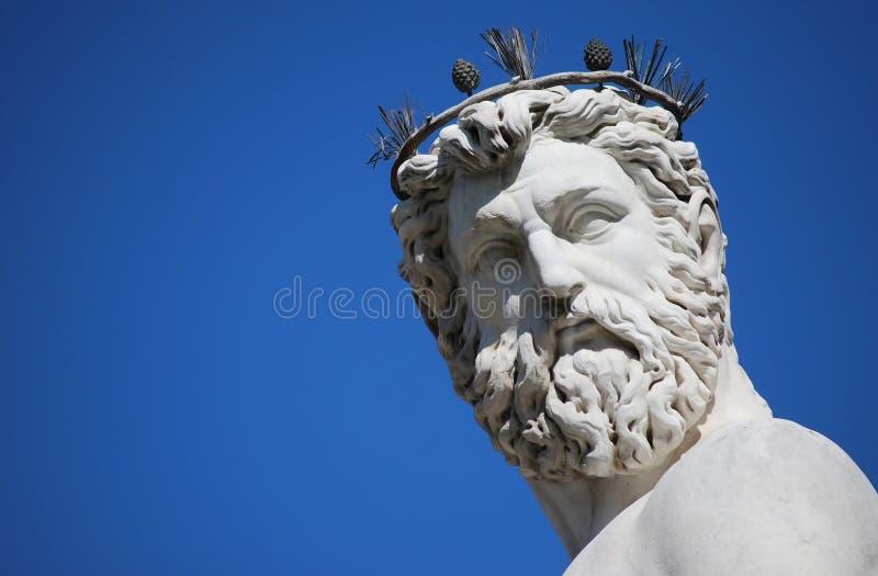 Neptune font face photos stock