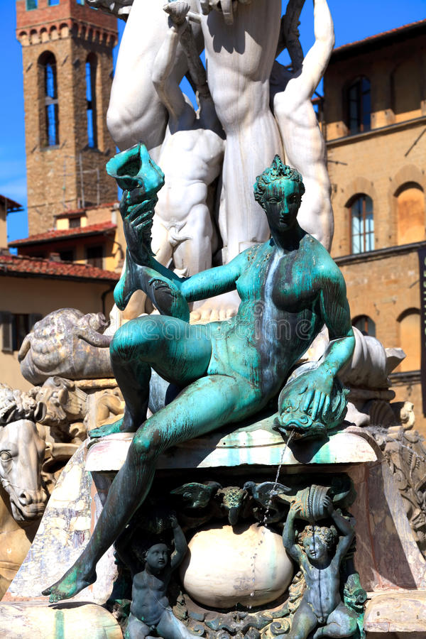 Download Neptune fountain stock photo. Image of building, clear - 25926904