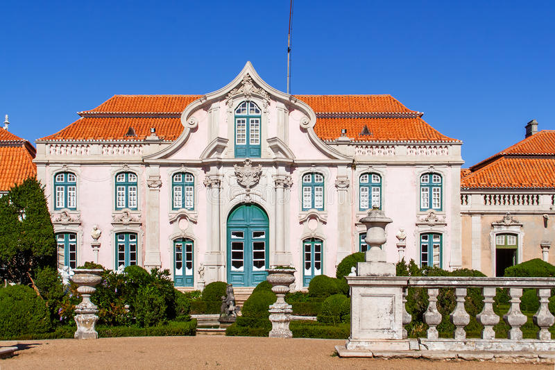 Exceptionnel Download Neptune Gardens (baroque) And One Of The Facades Of The Queluz  Royal Palace