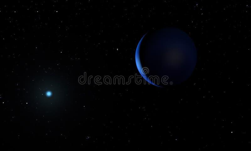 neptune planet space theme d illustration 150227940